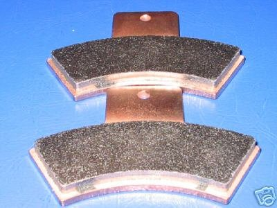 POLARIS BRAKES 99-00 XPLORER 400L 4x4 REAR BRAKE PADS #1-7047S