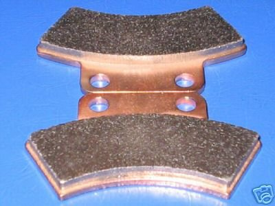 POLARIS BRAKES 95-98 XPLORER 400 L 4x4 REAR BRAKE PADS #1-7037S