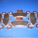 POLARIS BRAKES 98-04 SCRAMBLER 500 4x4 FRONT & REAR BRAKE PADS #2-7036S-1-7047S