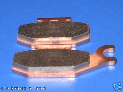 YAMAHA BRAKES 07-08 YFM400 GRIZZLY 400 4x4 REAR BRAKE PADS #1-15-307