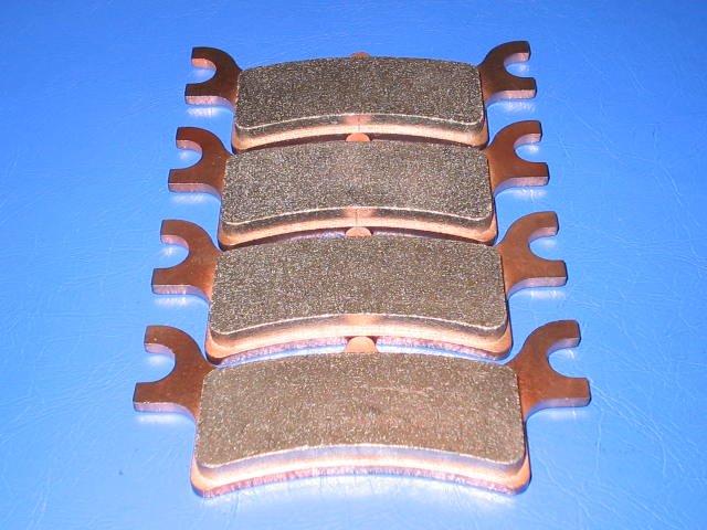 POLARIS BRAKES SPORTSMAN 500 X 2 EFI Quad REAR BRAKE PADS #2-7058S