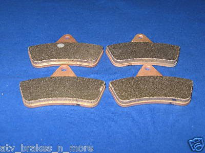 BRAKES 1998 - 2004 ARCTIC CAT ATV 500 ALL MODELS FRONT BRAKE PADS 2-7063s