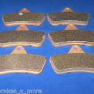 BRAKES 1999 - 2004 ARCTIC CAT 250 2x4 ATV FRONT & REAR BRAKE PADS 3-7063s