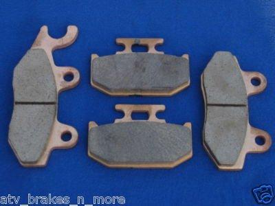 SUZUKI BRAKES 89 - 90 SUZUKI RM 125 RM125 FRONT & REAR BRAKE PADS #1-135-1-152
