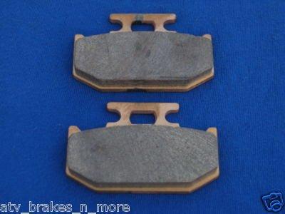 SUZUKI BRAKES 89-90 RM 250 RM250 REAR BRAKE PADS #1-152