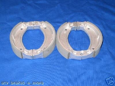 YAMAHA 95-00 TIMBERWOLF YFB 250 FRONT BRAKE SHOES PADS #2-2222