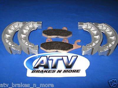 BRAKES 2005-2008 E-ton RXL 150 Viper R Front & Rear Brake Pads 1-165 2-1101