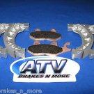 BRAKES '02-'08 CXL 150 Yukon II/Challenger Front & Rear Brake Pads 1-165 2-1101