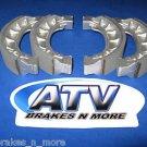 BRAKES 02-08 CXL 150 Yukon II/Challenger Front Brake Shoes 2-1101