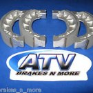 BRAKES 00-02 YXL 150 Yukon Front Brake Shoes 2-1101