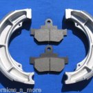 SUZUKI BRAKES '05 - '08 LS 650  (Boulevard S40 650cc) FRONT PADS & REAR BRAKE SHOES 1-3026 1-3305