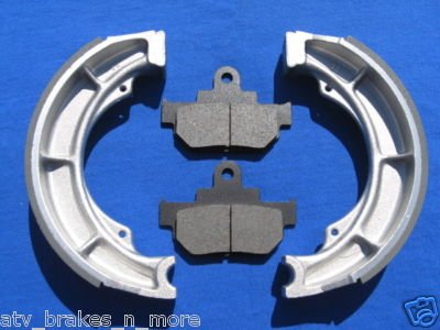 SUZUKI BRAKES 86-88/95-04 LS 650 SAVAGE FRONT PADS & REAR BRAKE SHOES 1-3026K 1-3305