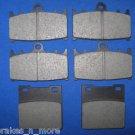 SUZUKI BRAKES 97-03 GSXR 600 FRONT & REAR BRAKE PADS #2-3032K 1-3019K