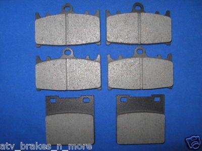 SUZUKI BRAKES 97-01 TL 1000 FRONT & REAR BRAKE PADS #2-3032K 1-3019K