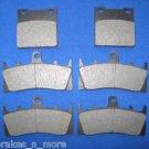 SUZUKI BRAKES 01-05 GSF1200 GSF 1200 FRT/RR BRAKE PADS 2-3044K 1-3019K
