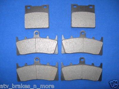 SUZUKI BRAKES 94-99 GSX-R 750 FRONT & REAR BRAKE PADS 2-3044K 1-3019K