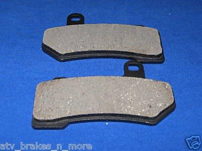 08-09 HARLEY BRAKES ROAD / STREET GLIDE BRAKE PADS 6018K