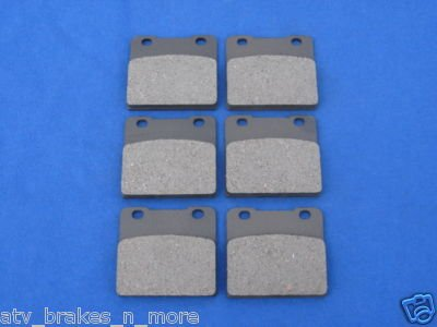 SUZUKI BRAKES 83 - 86 GS 1150 FRONT & REAR BRAKE PADS 3-3020K