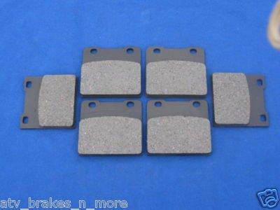 SUZUKI BRAKES 86 - 87 GSX-R 750 FRONT & REAR BRAKE PADS 2-3020K 1-3019K