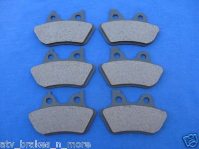 HARLEY DAVIDSON BRAKES 00-07 ROAD KING Frt & Rear BRAKE PADS 3-6016K