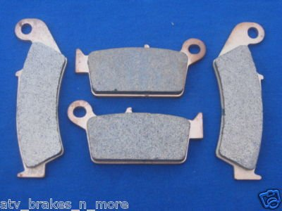 SUZUKI BRAKES '96-'08 RM 125 (all models) FRONT & REAR BRAKE PADS 1-185-1-131