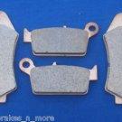 SUZUKI BRAKES 96 - 08 DR 650 FRONT & REAR BRAKE PADS 1-185-1-152