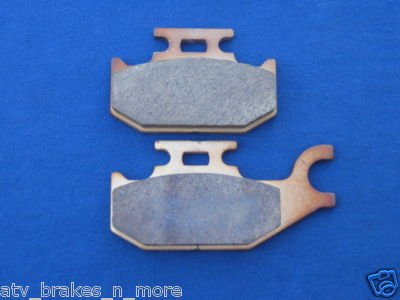 BOMBARDIER CAN AM BRAKES 06-09 OUTLANDER 650 REAR BRAKE PADS #1-2049S