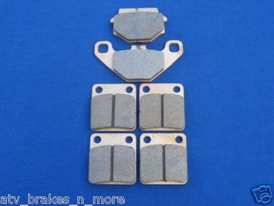 SUZUKI BRAKES 03-07 LT-A 500 VINSON 4X4 FRONT & REAR BRAKE PADS #2-54-1-372