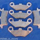 POLARIS BRAKES 2002 ATV PRO 500 4x4 PPS FRONT & REAR BRAKE PADS #2-7036-1-7058S