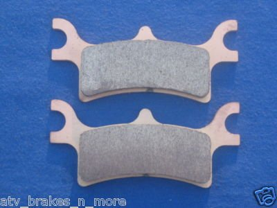 POLARIS BRAKES 2002 ATV PRO 500 4X4 PPS REAR BRAKE PADS #1-7058S