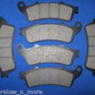 HONDA BRAKES 96-02 ST 1100 A ABS Model FRONT & REAR BRAKE PADS 3-1082K