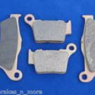 KTM 96-03 400 EGS EXC LSE FRONT/REAR BRAKE PADS BRAKES  1-181 1-208