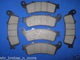 HONDA BRAKES 01 to 08 GL 1800/GL1800A GOLDWING FRONT & REAR BRAKE PADS 2-1082 1-1094