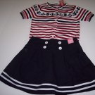 NWT Skirt & Sweater Sz 10 Gymboree Bon Voyage Line
