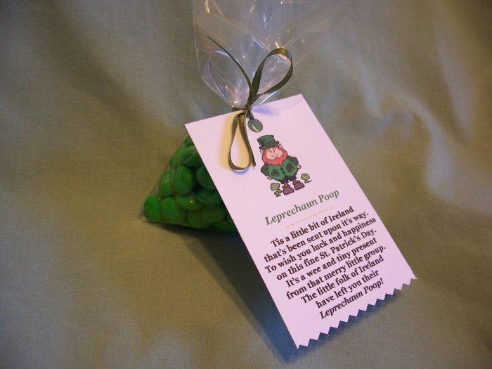 Leprechaun Poop Novelty Gag Gift M&Ms Candy