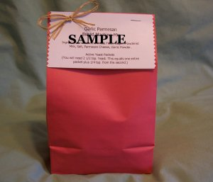 Almond Joy Brownie Mix Gift Bag