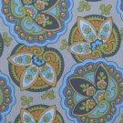 Amy Butler Lotus Sand Star Paisley Fabric 1 Yard