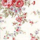 Tanya Whelan Ava Rose Grey Kitchen Rose Fabric 1 Yard