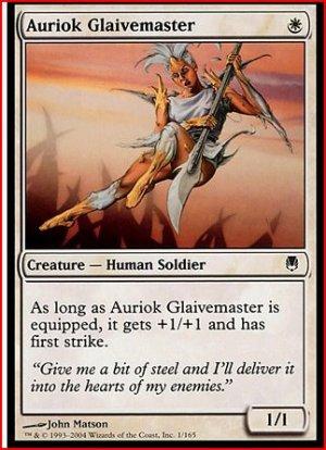 Auriok Glaivemaster x 4,Darksteel