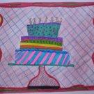 Birthday Cake Handmade Card