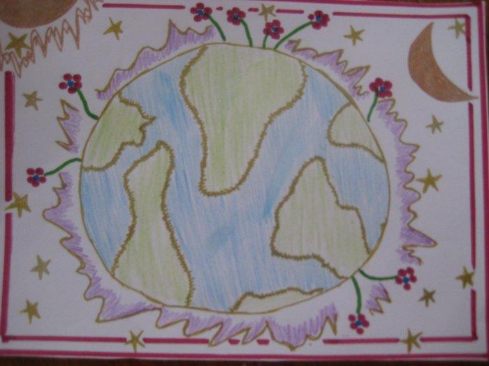 Peace Handmade Card