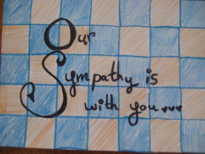 Sympathy Handmade Card