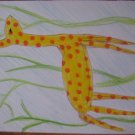 Giraffe Handmade Card