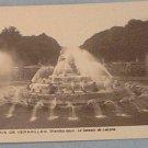 France~French~Postcard~Versailles~Le Bassin de Latone~Grandes Eaux~Vintage