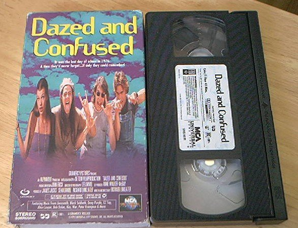 DAZED AND CONFUSED~VHS~RORY COCHRANE~MATTHEW MCCONAUGHEY~1993~ TEEN COMEDY