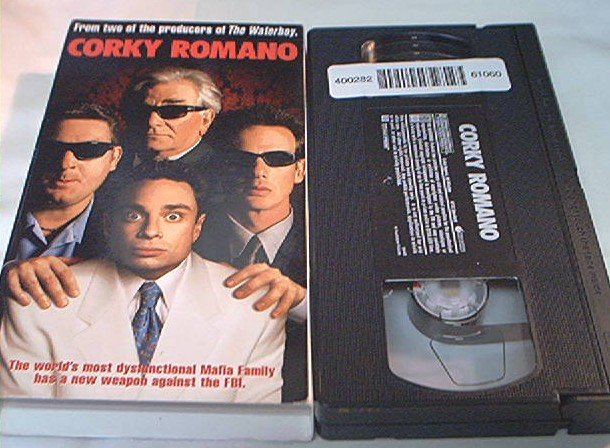 CORKY ROMANO~VHS~CHRIS KATTAN~PETER FALK~CHRIS PENN
