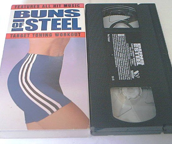 BUNS OF STEEL~VHS~TARGET TONING WORKOUT~1997~FITNESS