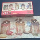 CEACO~LONG SHOT~PUP ART~JIGSAW PUZZLE~HAS ALL 700 PCS~PUPPIES~CUTE