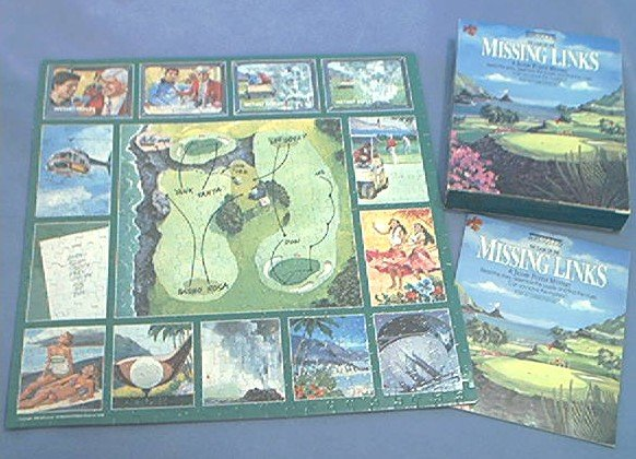 MISSING LINKS GOLF~JIGSAW PUZZLE~BEPUZZLED~HAS ALL 500 PCS~SOLVE THE MYSTERY