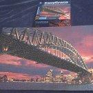 EZ GRASP~JIGSAW PUZZLE~CITYSCAPE AT DUSK, SYDNEY AUSTRALIA~HAS ALL 500 BIG PIECES